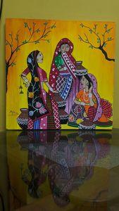 Bengali women gossiping