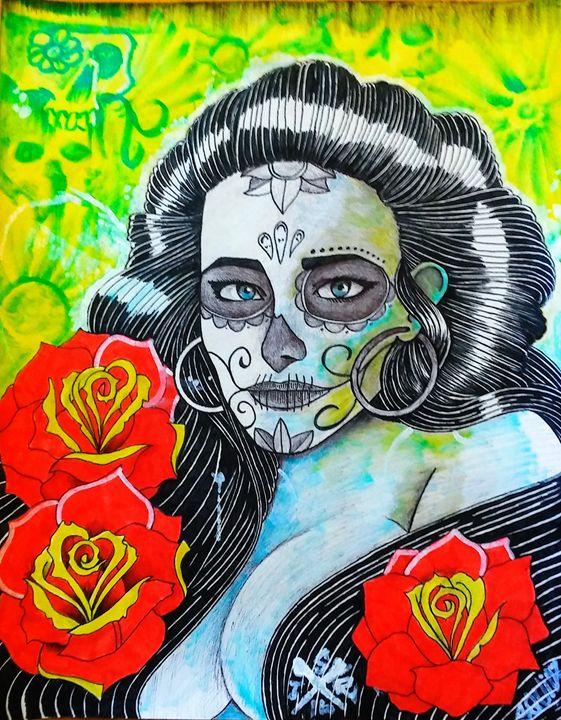 Sugar Skull Vixen - SquidzTheRipper