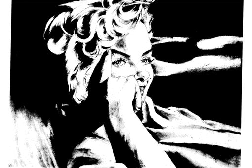 Marilyn Monroe at Peace on Earth - Jimmie Williams Experience Charcoal Gallery