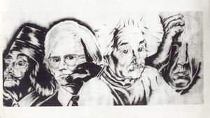 Dali, Warhol, Einstein and Picasso