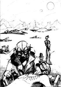 Sketch Cover: Martian Time Slip