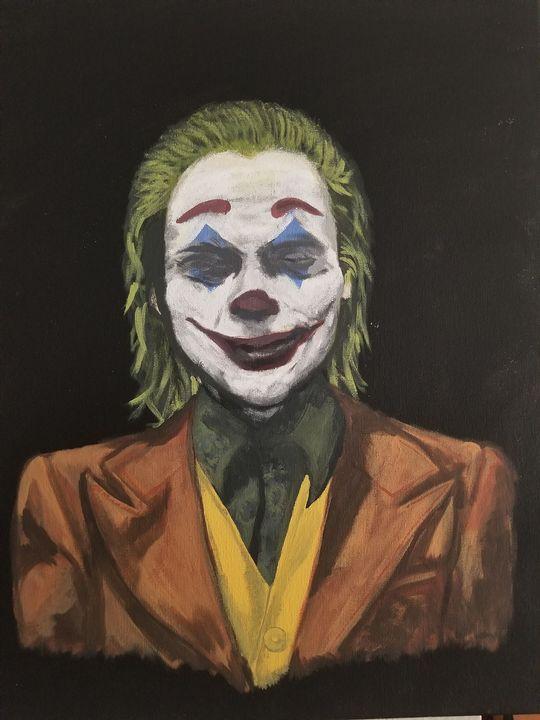 Joker 2019 Original Painting - JV Art