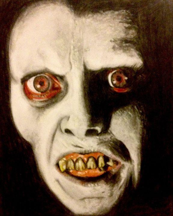 """Captain howdy """"exorcist"""" - Art of Tony Riley"""