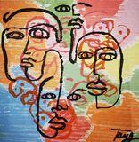 Original acryl artwork.