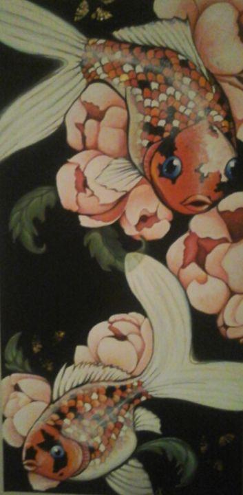 Blue-eyed Shubunkin - Cushla Gatland