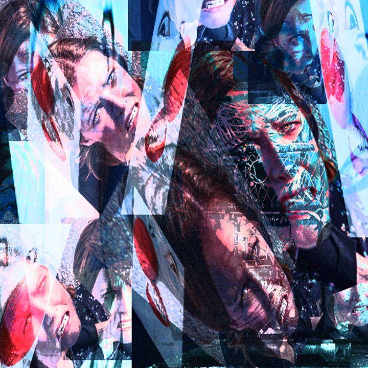 Mocking Pain - Laura Conroy Abstract Artist