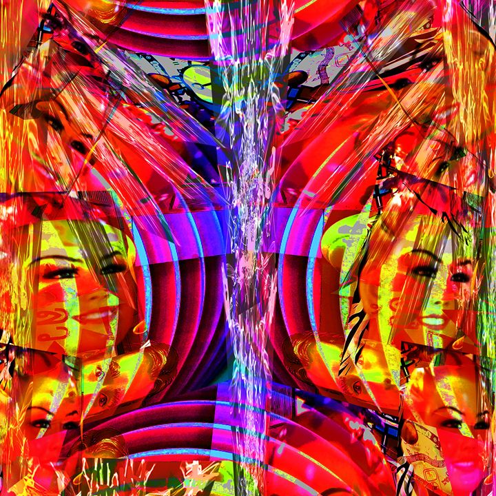 Waves of Joy - Laura Conroy Abstract Artist