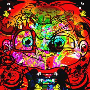 Mucky Messy Funny Childhood - Laura Conroy Abstract Artist