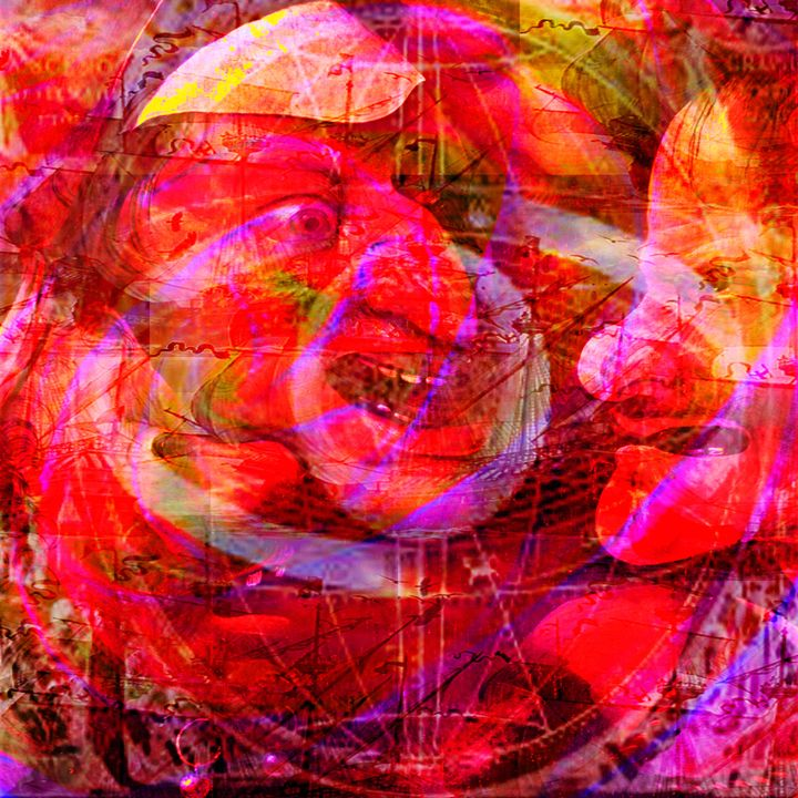 Gossip - Laura Conroy Abstract Artist