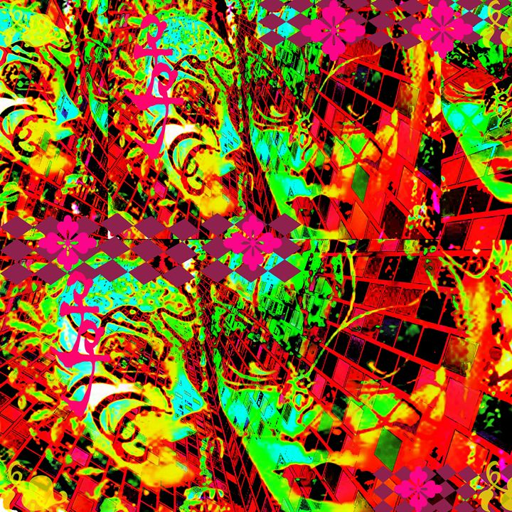 Psychedelic - Laura Conroy Abstract Artist