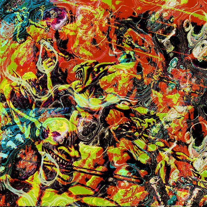 Devils Delight - Laura Conroy Abstract Artist