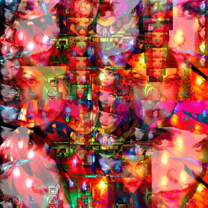 My Vibrant Spirit - Laura Conroy Abstract Artist