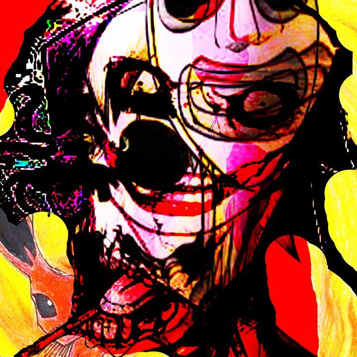 Insane - Laura Conroy Abstract Artist