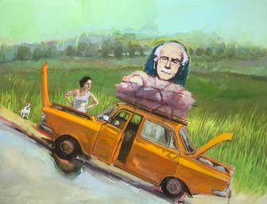 Postalcard wiyh Carl Gustav Jung