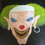 Original deamon clown painting