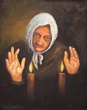 Old Mother Praying - Maria Aparecida Monteiro