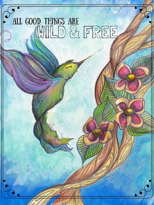 All Good Things Art Wild and Free - Beth Speer