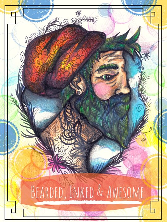 Bearded, Inked, and Awesome - Beth Speer