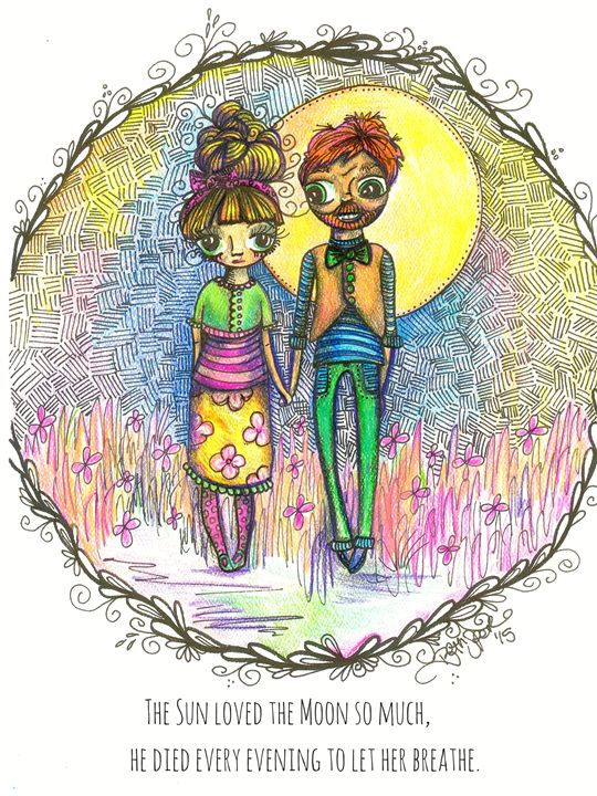 The Sun Loved the Moon - Beth Speer