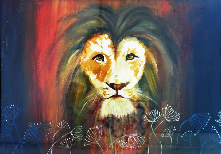 the mighty king - Sanhita Ranjolkar