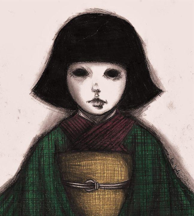 Japanese doll - My drawings