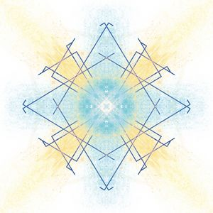 Sun Diamond - Symmetry Art