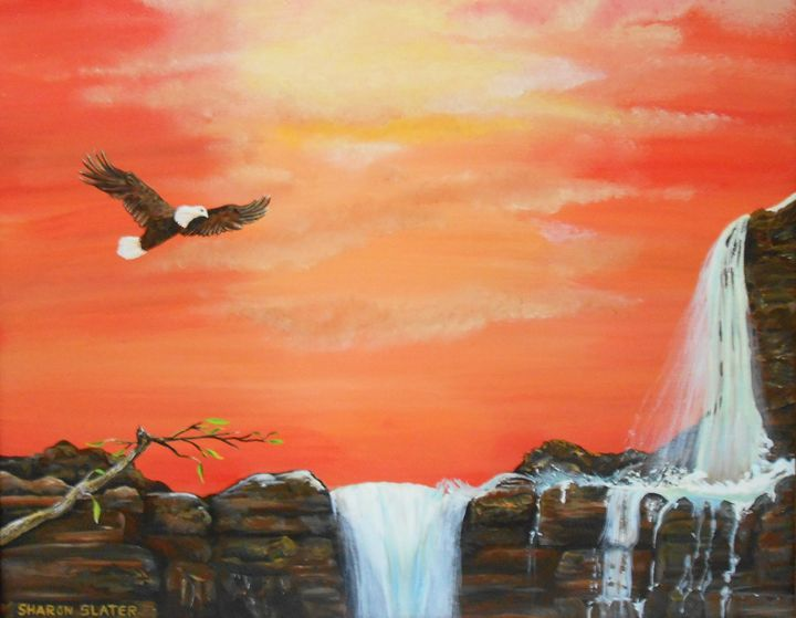 FreeEagle- Original is $450. - Sharon Slater