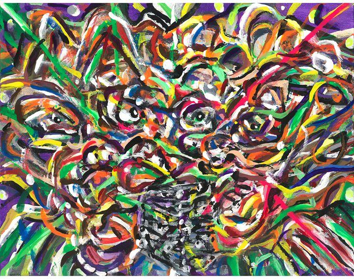 macro reid - amazon web art