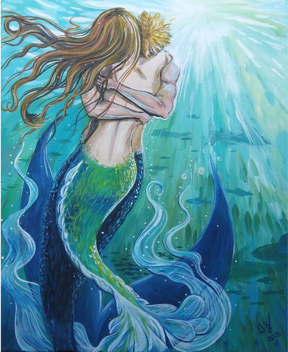 Mermaids hello - Wendy Crouch