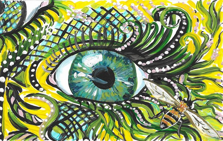 Eye on Bee - Wendy Crouch