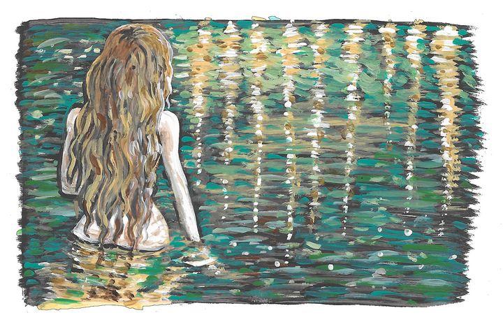 Goddess Bath, Lady of the Lake - Wendy Crouch