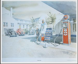 Tropical Gulf Gas Station