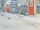 Tropical Gulf Gas Station
