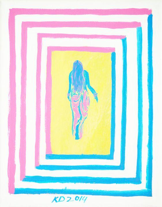 Pink goes after blue - Kidism