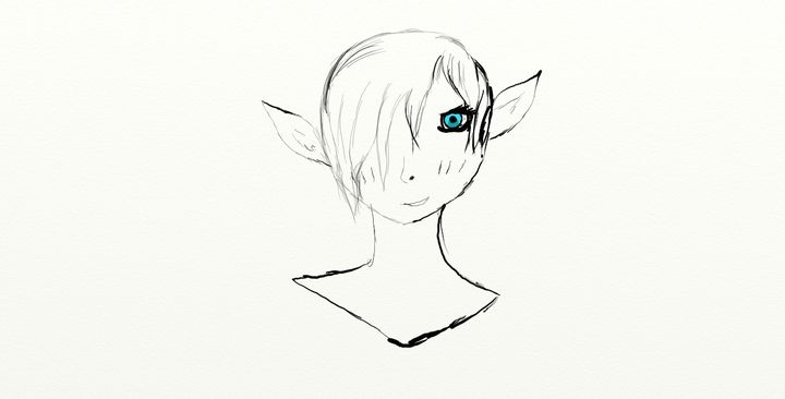 shy elf - I'm a begginer