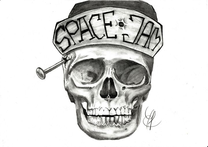 Skull - Drawings