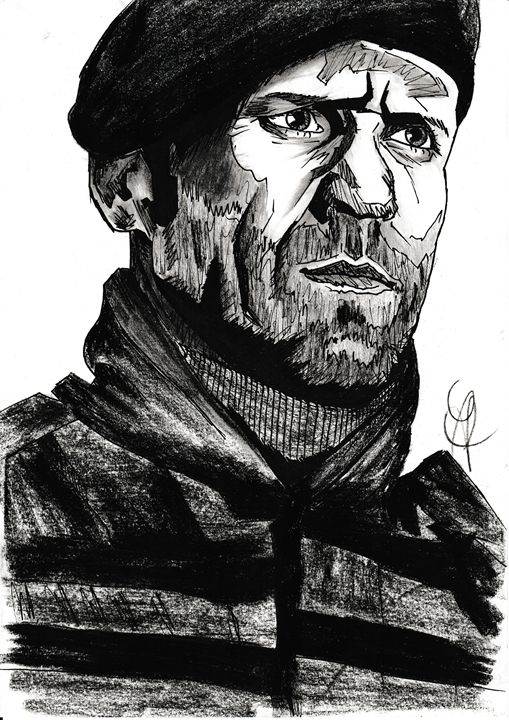 Jason Statham [ Expendables ] - Drawings