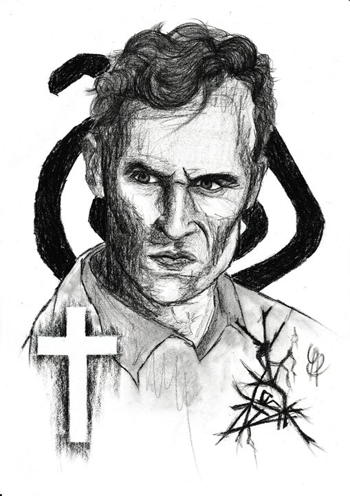 Rust Cohle [ True Detective ] - Drawings