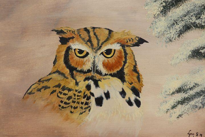 HORNED OWL - DREAMZ-ART
