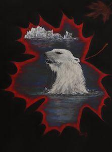 POLAR BEAR; Canadian wildlife art