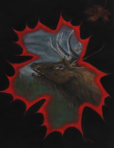 ELK; Original Artwork - DREAMZ-ART