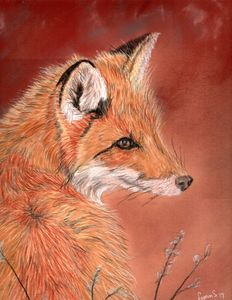 RED FOX IN FALL - DREAMZ-ART