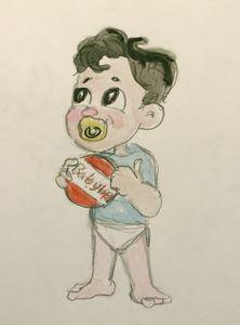 Baby Ben with BabyBel