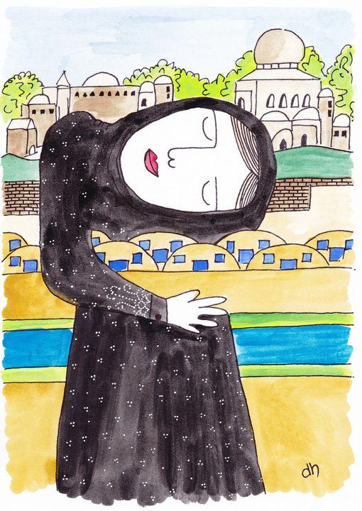 'Mosul Dreaming,' 2018 - Diane Hanna