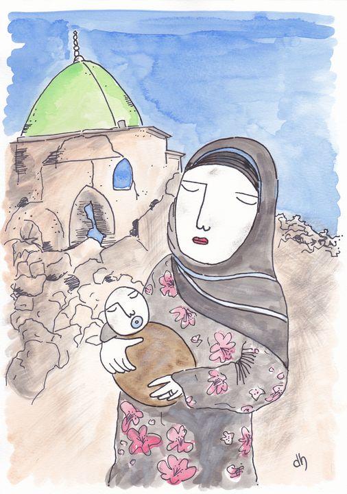 'Mosul Mama,' 2018 - Diane Hanna