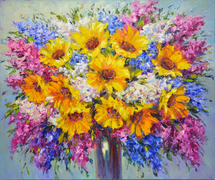 Sunny bouquet of flowers - Iryna Kastsova
