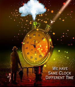 Same clock