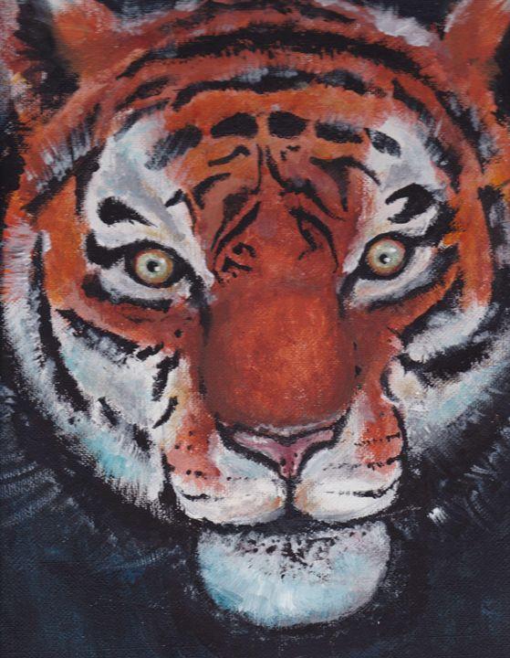 Tiger - Cydney's art