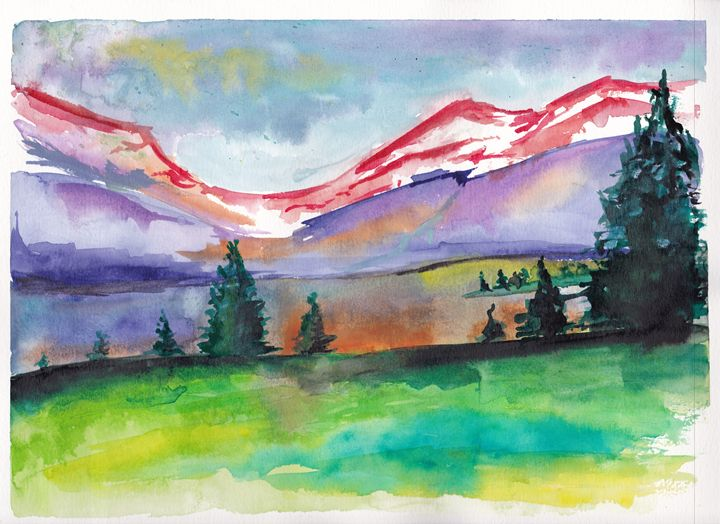 Scenery - Cydney's art
