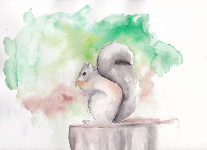 Squirrel - Cydney's art